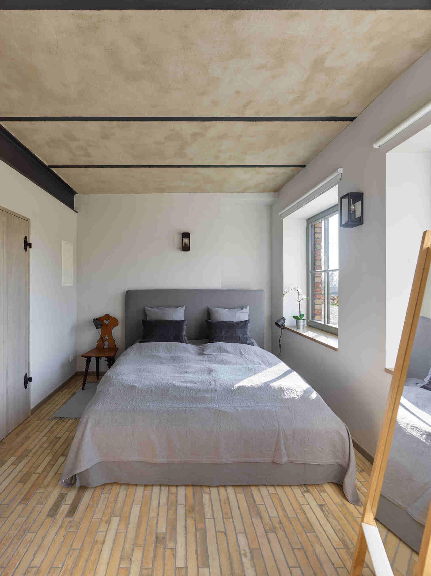 uckermark-Gutshof-Fredenwalde-ferienwohnung-Weinberg-Schlafzimmer