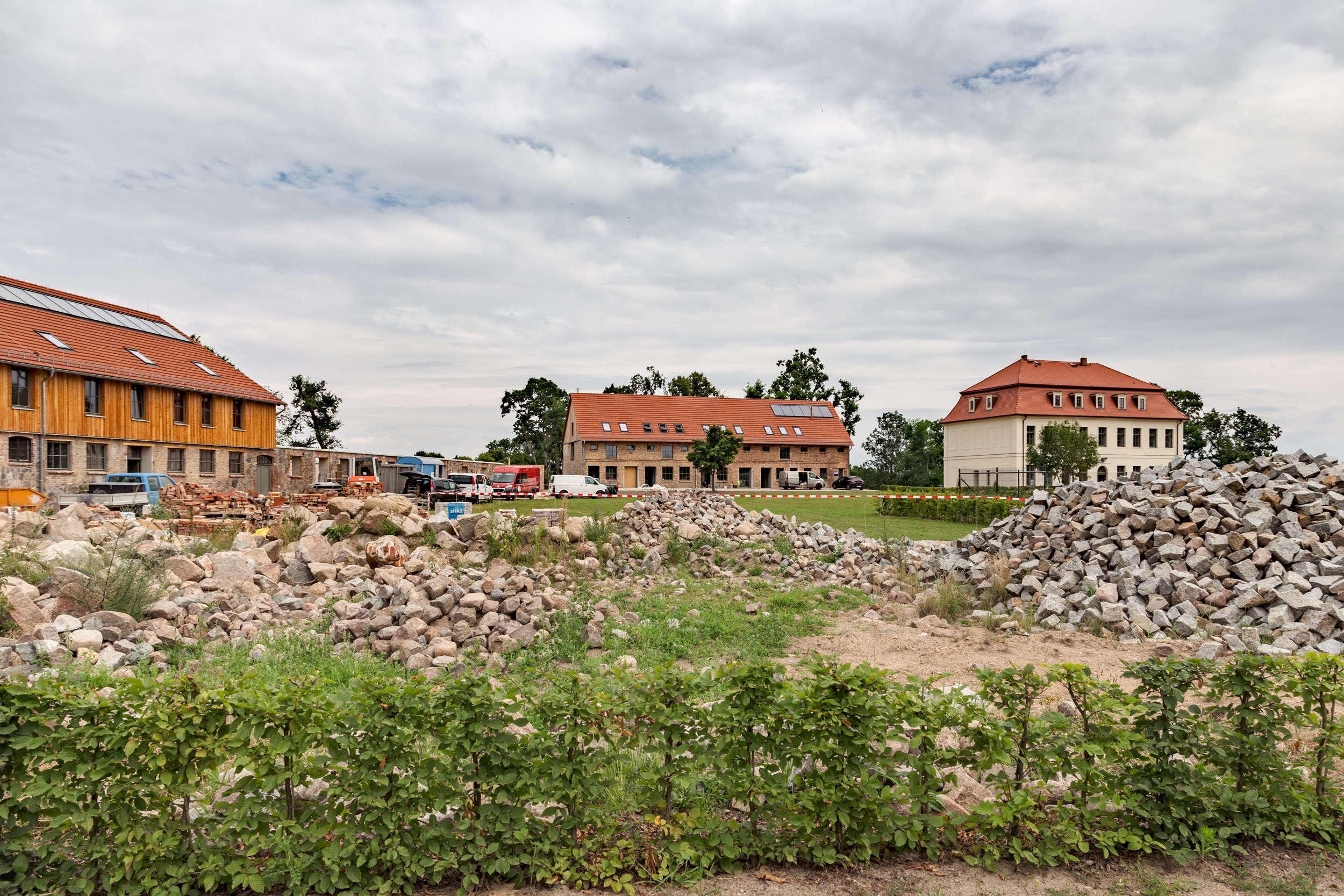 Bauarbeiten-Gutshof-Fredenwalde